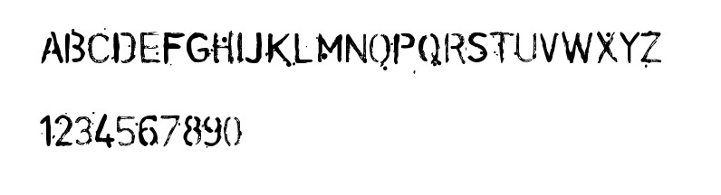 Conspiracy Font View