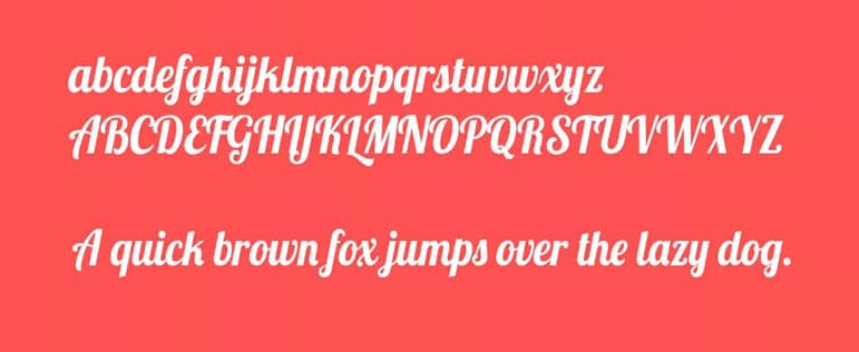Lobster Font View