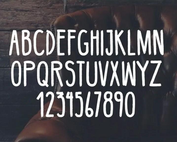 Bellaboo Font View