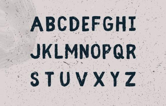 Fibre Vintage Font View