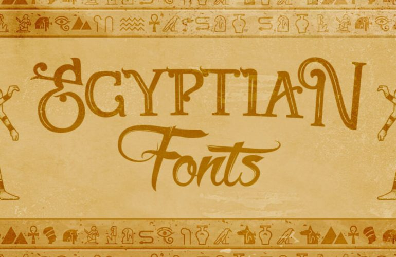 Egyptian Font