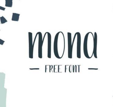 Mona Handwritten Font
